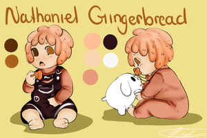 Nathaniel Gingerbread by GingerQuin