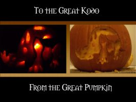 Great Kodo Pumpkin by DarkMichiko