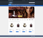 Online Mall home page by skirilov