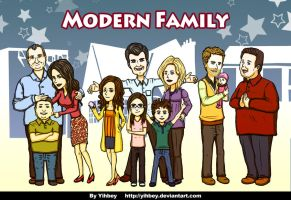 Modern Family by Yihbey