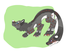 Monster made for kiba-incognito! by Lodidah