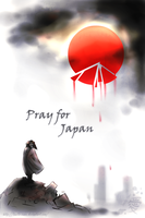 Pray for Japan by Tanita-sama
