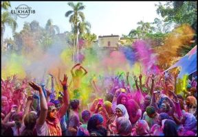 festival of colours by lilipads