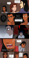 TLK human anime comic practice by The-PirateQueen
