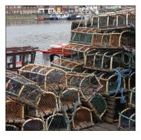 Whitby Lobster Pots by sicklittlemonkey