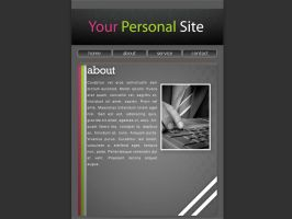 Website Mock up by sligltd