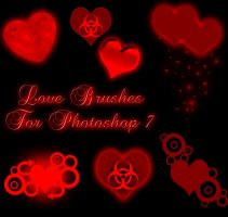 Love Brushes for Photoshop 7 by Forbidden-Stock