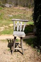 Stock- Old wooden chair by cherie-stenson
