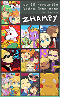 Favourite Games by Zhampy