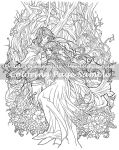 Art of Meadowhaven Coloring Page: Love Birds by Saimain