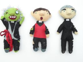 Father Ted Zombies by daegfire