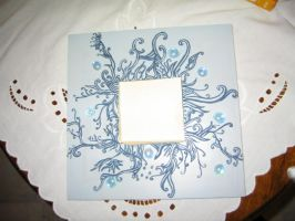 Blue mirror by Tuile-jewellery