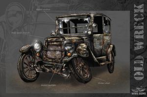 Old Wreck Concept by Akuma1x