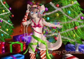 X-Mas Nielo stole the Lights by Gamal-the-rookie