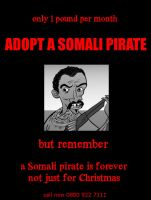Adopt a Somali pirate NOW by Velica