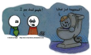 I Pee Dead People by AK-Is-Harmless