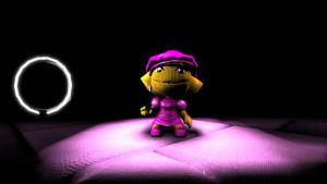 When I get bored in LBP 2: Lisa Simpson Pink Dress by Sonickyle27