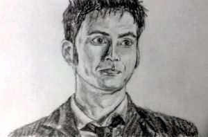 Tenth Doctor by ThatPeskyNargle