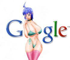 G00gle painted by OjosNocturnos