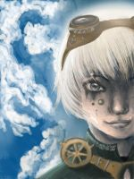 STEAMPUNK Beside the clouds by LoSqui