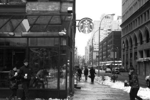 Starbucks by charlottepiref