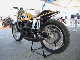 World Champ Kenny Roberts bike by Partywave