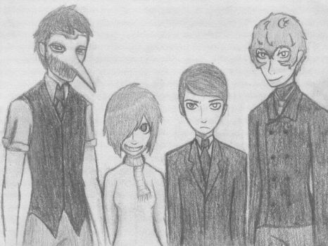 Group Photo - More Fan Art xD by XAshley-RoseX