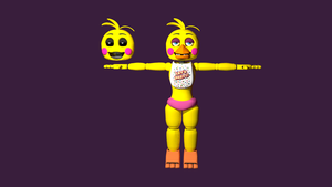 FNAF 2 Toy Chica by ultramatanui135