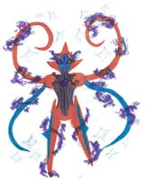 Crappy first ever deoxys by dobharachu