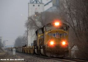 UP 5105 leads UP IDXG4R 14 by EternalFlame1891