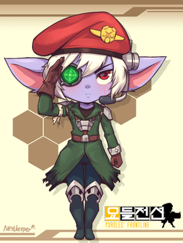 Omega Squad Tristana by Nestkeeper