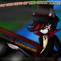 King Of The Ghost Train by Mariatiger