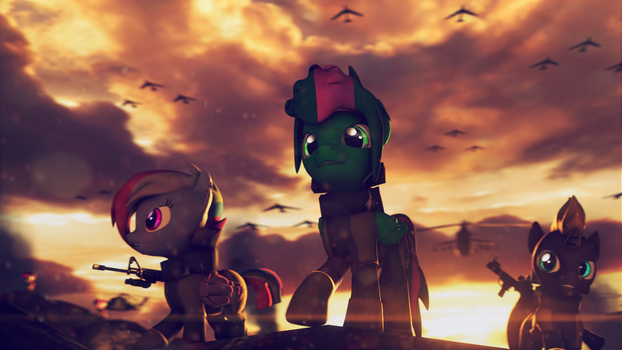 We didn't start this war , but we will end it by CanterlotsRavenUA