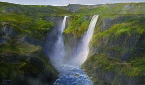 iceland foss colors attempt x by andrekosslick