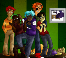 group shot by ProfessorDeLune
