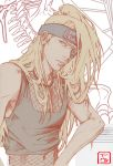 Deidara's Hair by invisibleninja12