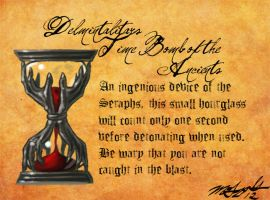 Heretic Artifacts: Delmintalitar's Time Bomb by Liamythesh