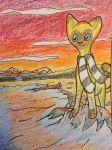 Sunset Beach ACEO by brandy212