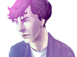 Sherlock: colours by punkypeggy