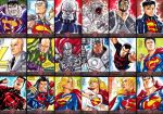 Superman The Legend sketchcards - part 2 by MarcFerreira