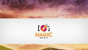 Magic Media Logo by HaithamYussef