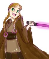 Jedi Anna by mossmallow