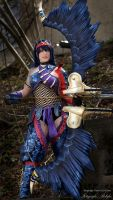 Monster Hunter 3U Nargacuga X Cosplay- Evil-Siren by Evil-Siren