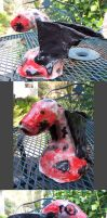 Dragon Bust Sculpture by AlyaFenume