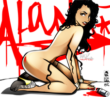 Alana M Gets Toon'd by chronic0avenger