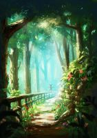 Forest by Mummy-fei