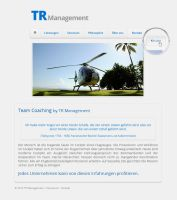 TR Management Website by theKovah