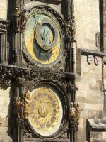 Astronomical Clock - Full View by Sabbelbina