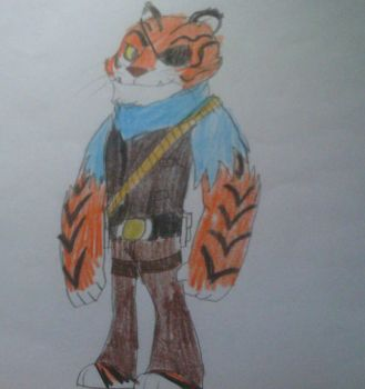 Tiger Claw (Omniverse Style) by MIXTOONS