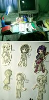 Chibi Collection 01 by kiddou